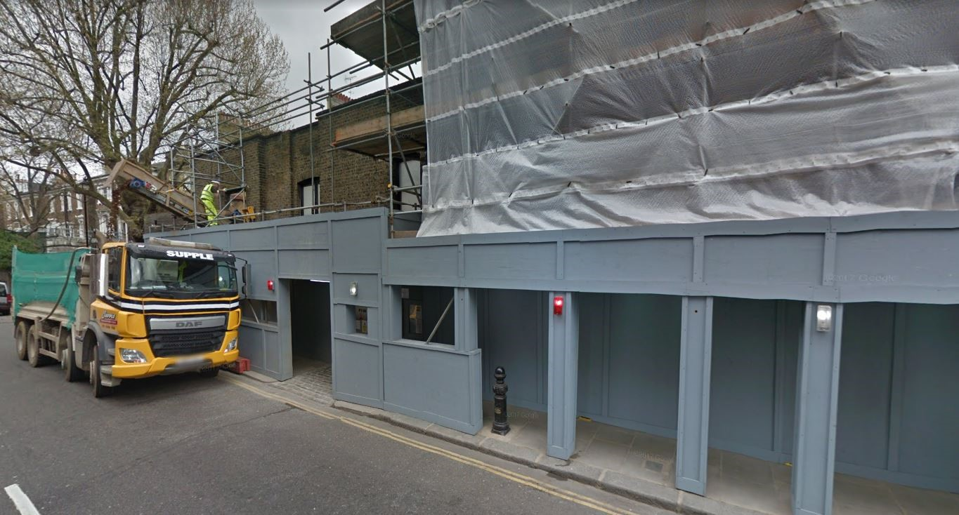Kings Road London Screeding