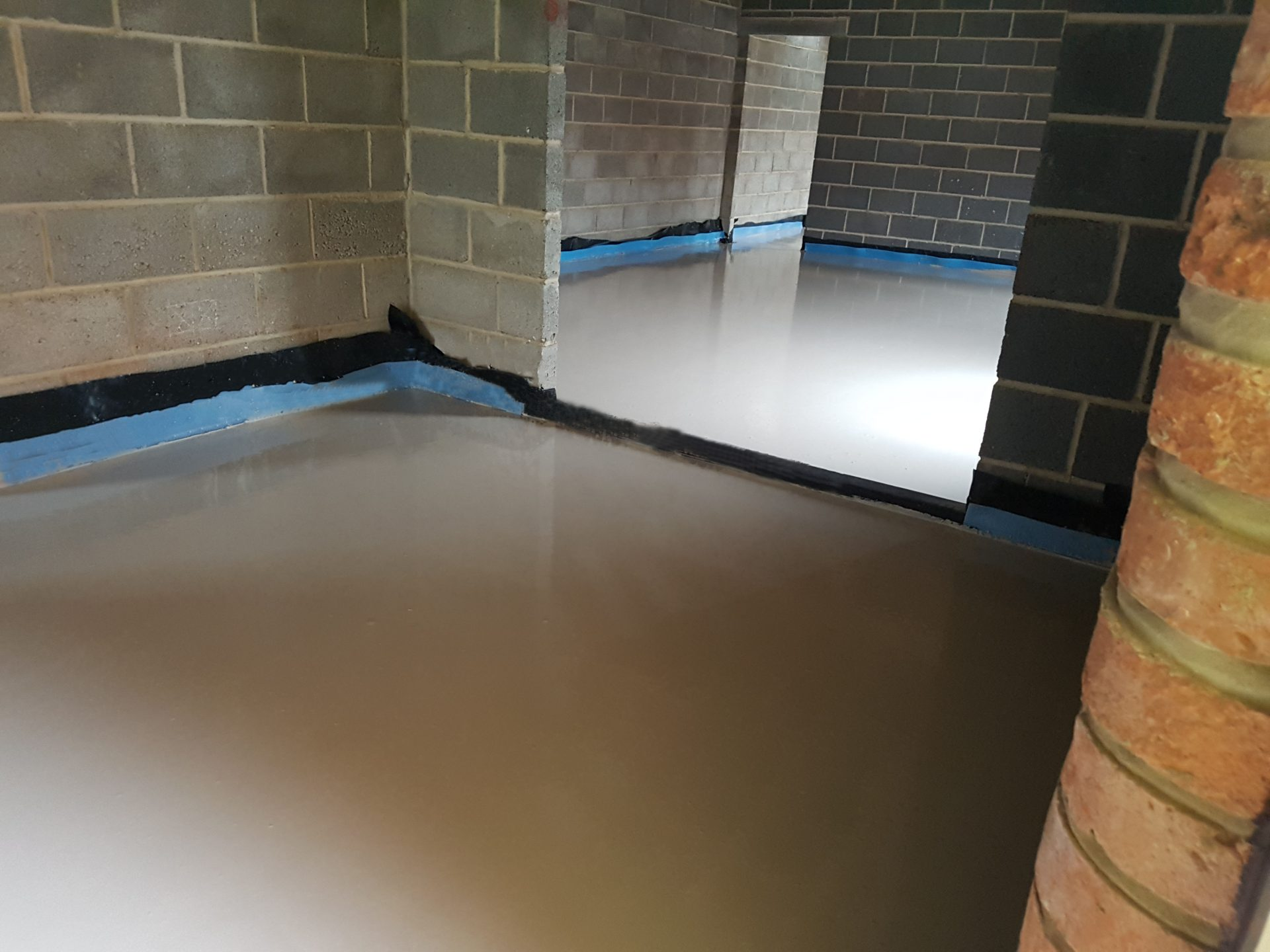 Retford Pump Screed
