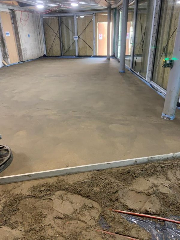 St Paul's Cathedral Ardex A35 Screed